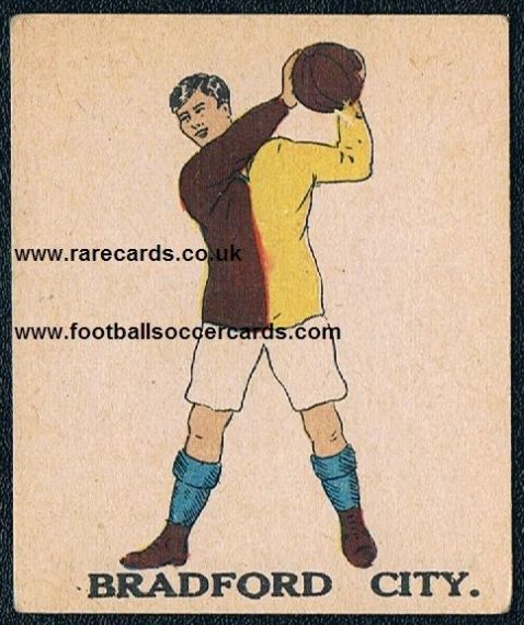1923 Bradford City type I Battocks